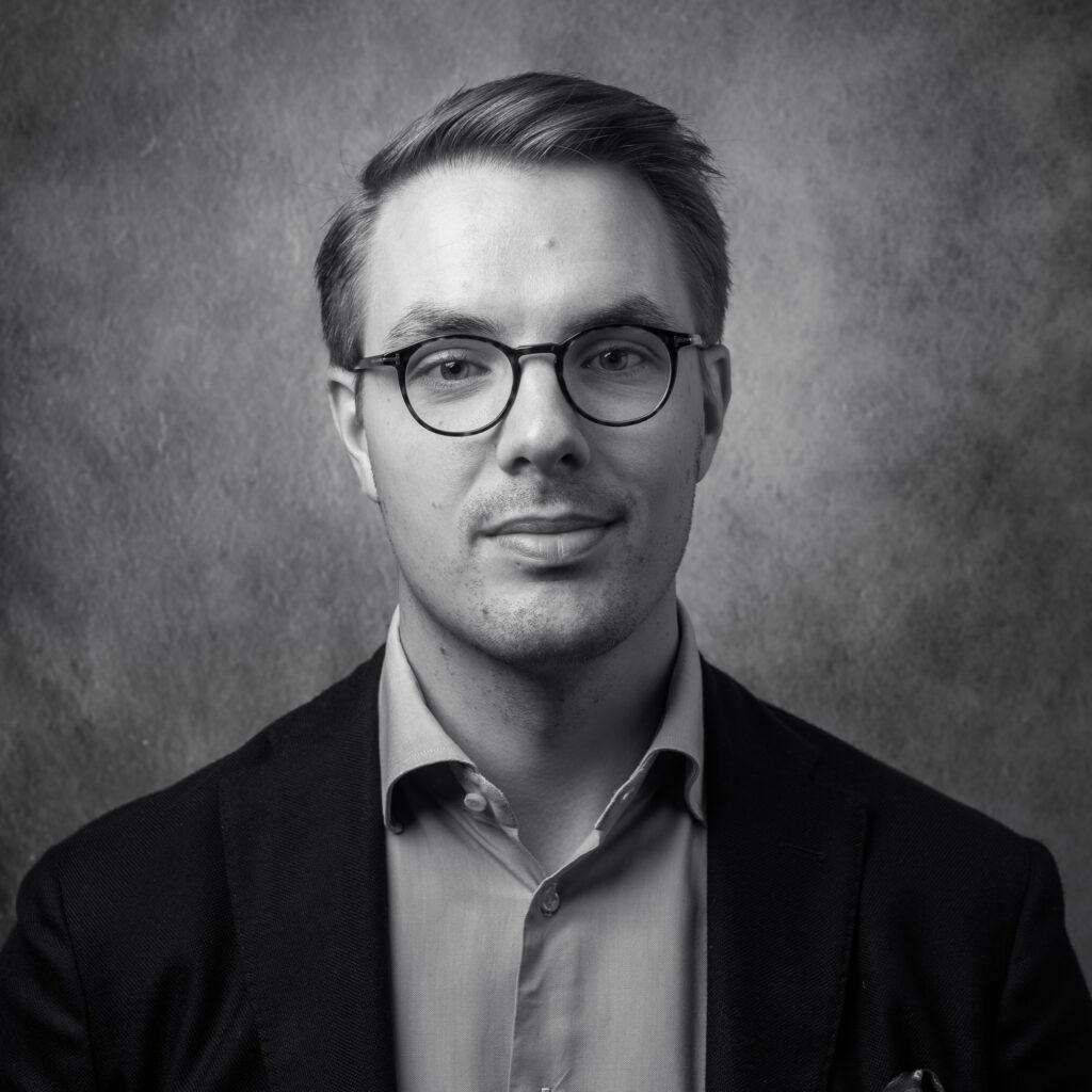 porträtt av man på företag i Karlstad